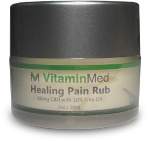 Healing Pain Rub With Emu Oil